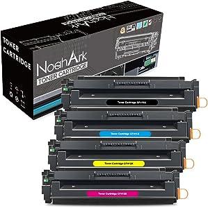NoahArk Compatible Toner Cartridge Replacement for HP 410X CF410X CF411X CF412X CF413X,High Yield(Black,Cyan,Magenta,Yellow,4-Pack)