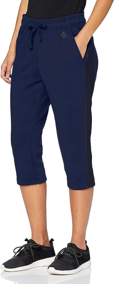 adidas Damen Hose Essentials 3-Streifen 3/4