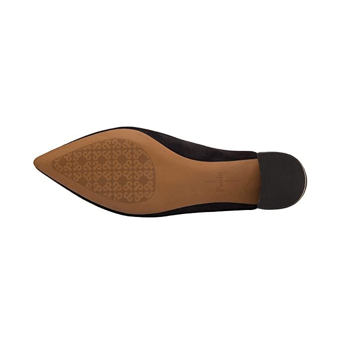 7c9b0f411e2d Amazon.com   Linea Paolo Zadie   Svelte Almond Toe Mid Height Block Heel  Mule Comfortable Leather Suede (New Fall)   Shoes