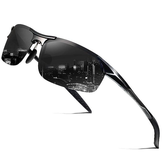 Amazon.com: WearPro polarizadas deportivas anteojos de sol ...