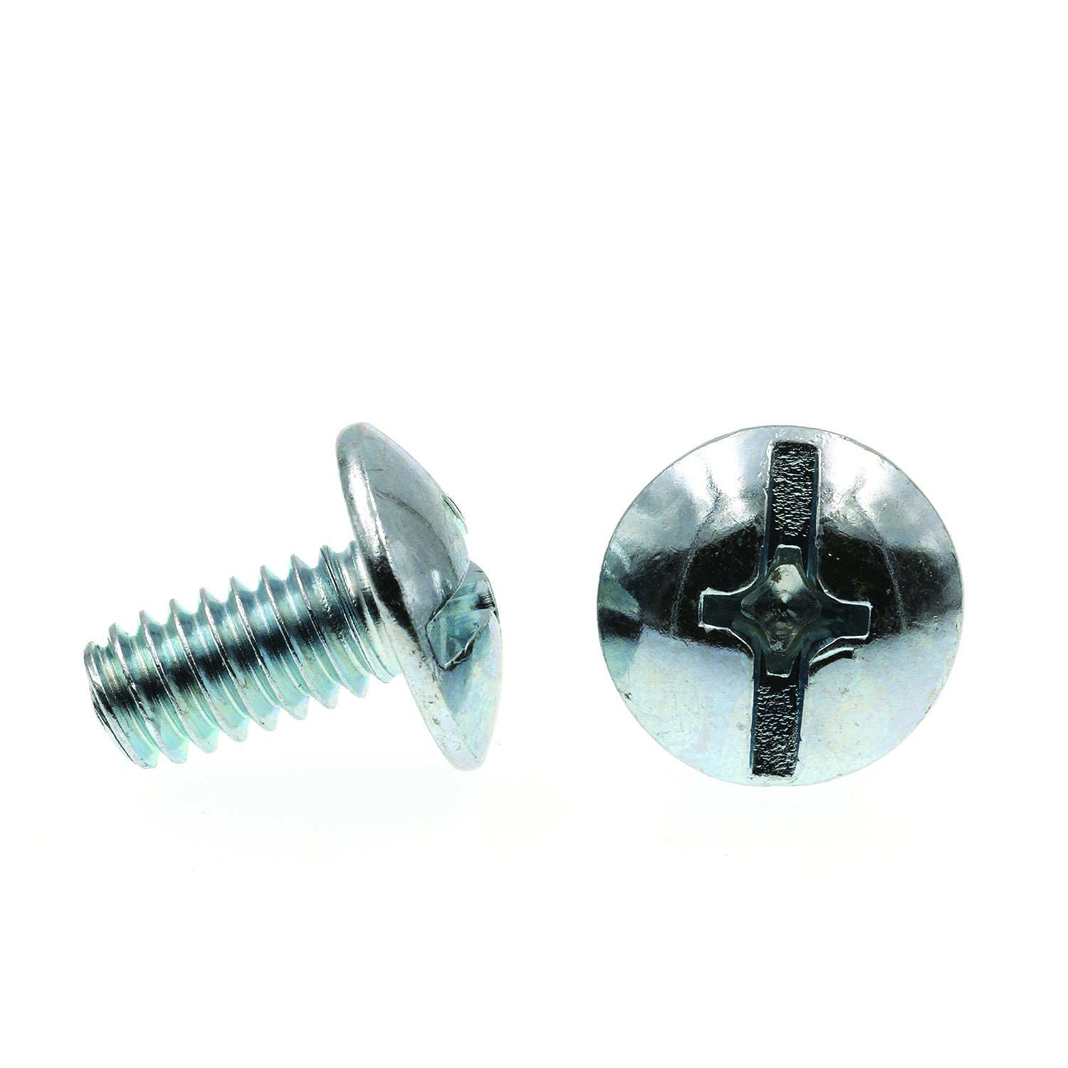 M12-60-P-BSS-UP 100 Pcs M1.2 X 6mm Plastic Thread Forming Screw Black Stainless Steel Undersized Pan Head Phillips Drive