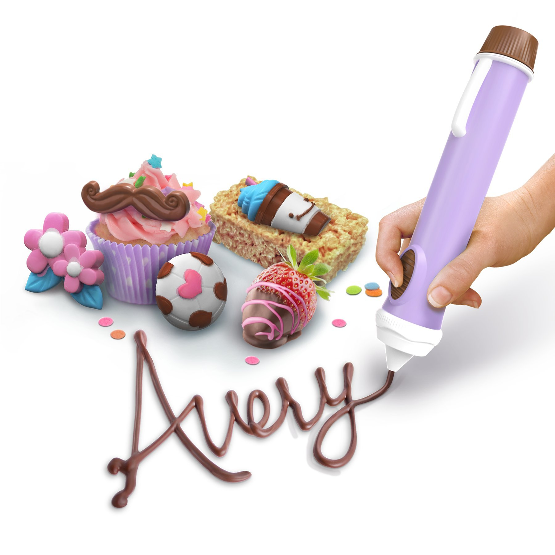 Real Cooking Chocolate Pen 2 Kit - Includes 4 Chocolate Refills by Real Cooking