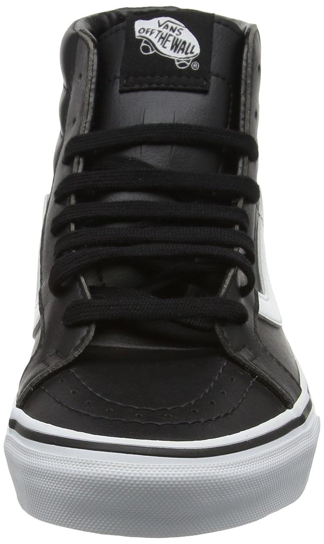 8083e986a6 Vans Unisex Adults  Sk8-hi Reissue Leather Trainers  Amazon.co.uk  Shoes    Bags