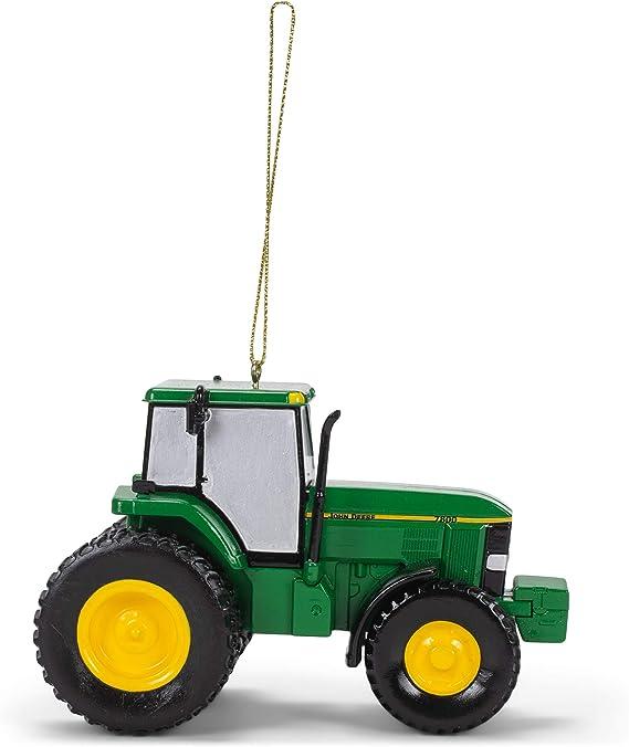 Plastic Kurt Adler JR1202 John Deere 7800 Tractor Ornament