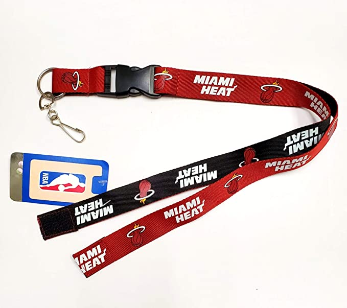 PSG INC Los Angeles Clippers Blackout Design Premium Lanyard 2-Sided Breakaway Clip Keychain Basketball