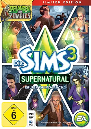 Die Sims 3 Supernatural Limited Edition Add On Pc Amazonde