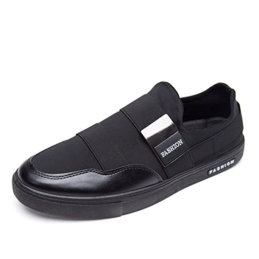 Men Loafers Breathable Canvas Shoes Spring Summer Flats Solid Slip On Light Casual Driving Flat With Boat Shoes Men
