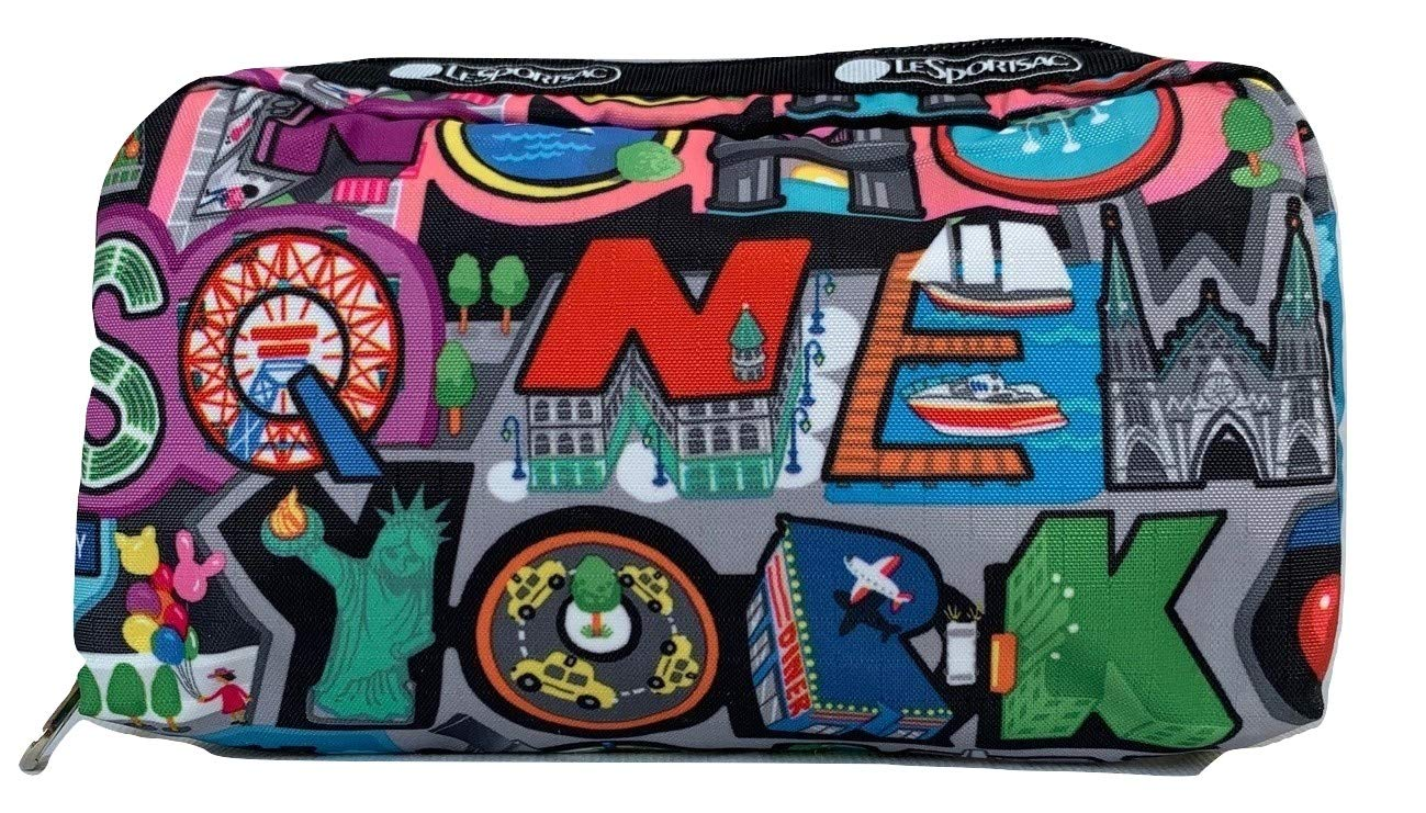 LeSportsac NYC, New York City Exclusive Rectangular Cosmetic Bag, Style 6511/Color K148