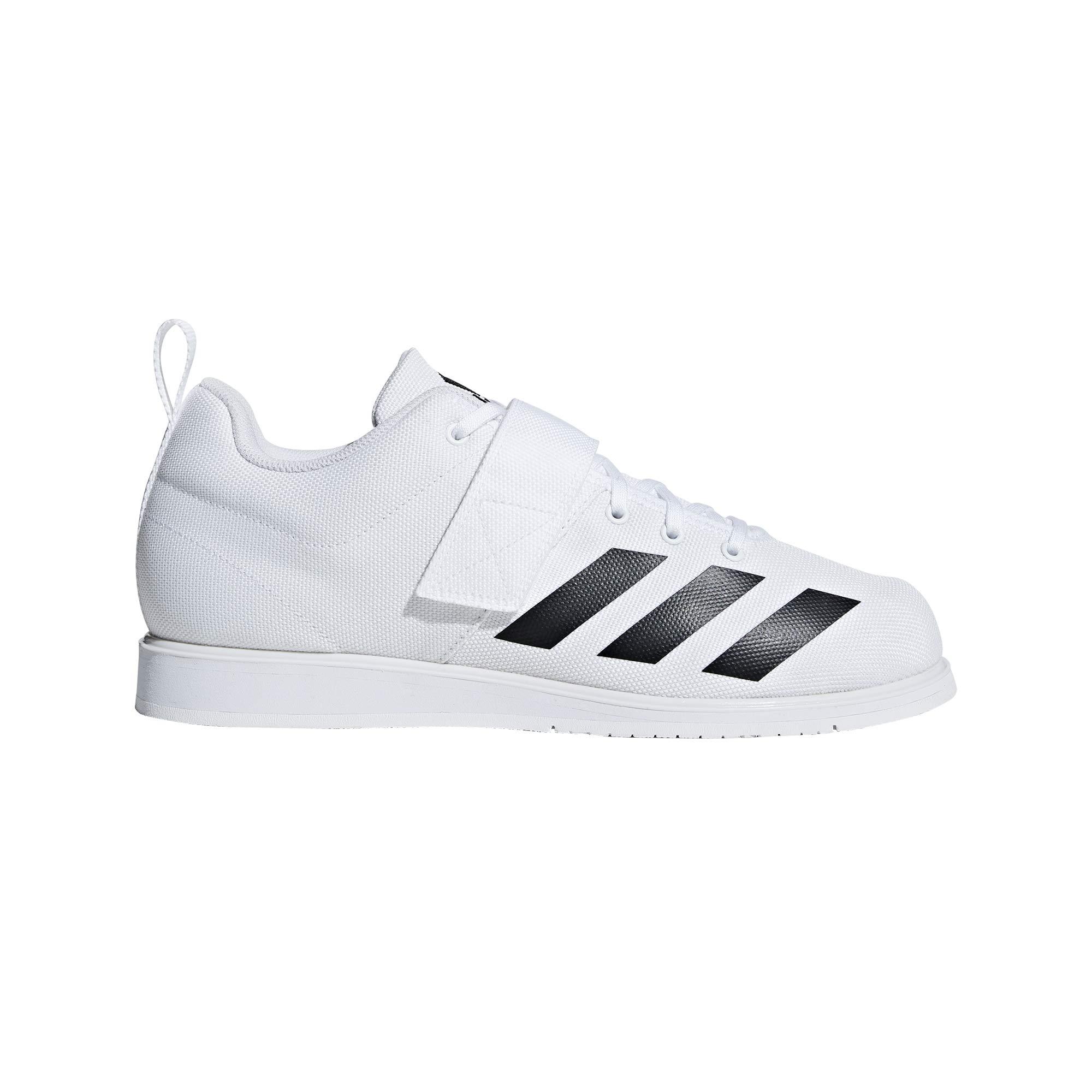 adidas Men's Powerlift 4, Black/White, 4 M US