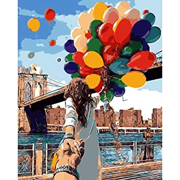 Amazon Com Assorted Paint By Number Kits For Adults Balloon