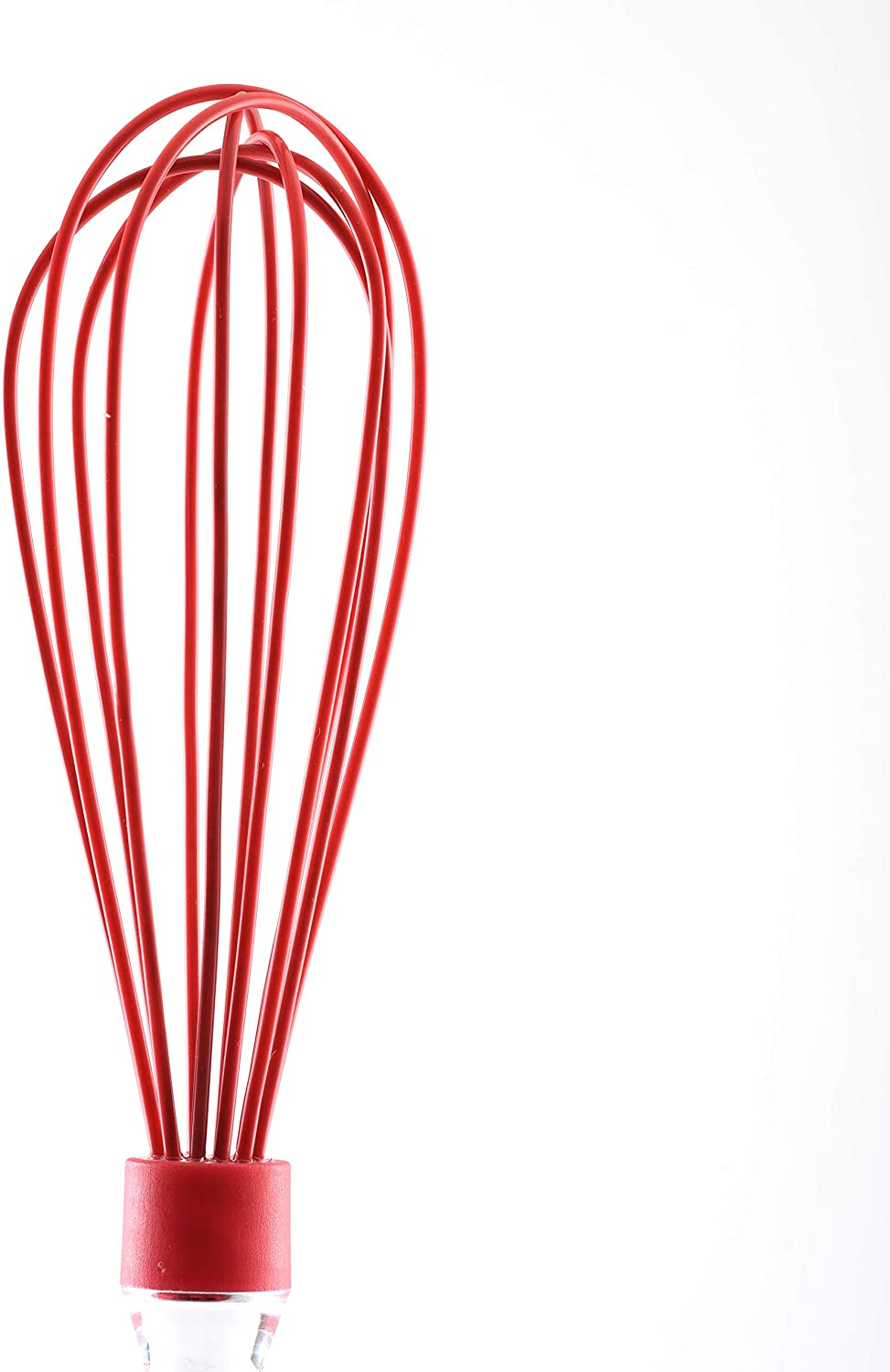 Norpro Silicone Whisk-Red
