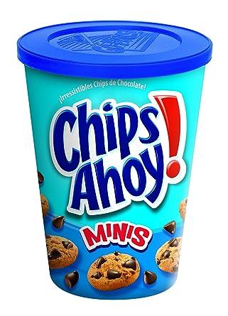 Chips Ahoy! Mini - Galleta con gotas de chocolate, 120 g