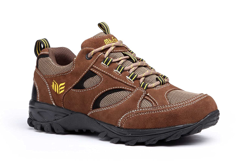 Mt Emey 9708 Men's Extrem-Light Athletic Walking Shoes 13 4E US|Brown