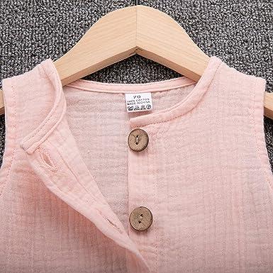 Amazon.com: Bebé recién nacido Bebé Niños Niñas Algodón Ropa ...