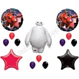 NEW!! BIG HERO 6 Disney Balloons Birthday party Decoration Supplies Hiro Baymax Movie