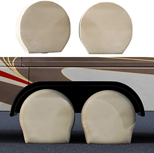 TCP Global Set of 4 Canvas Wheel Tire Covers