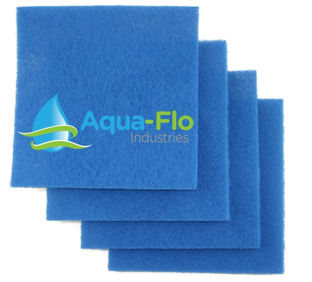 Aqua-Flo 12''x 12''x 1'' Rigid Pond Filter Media, 4 Pads (4 square Feet)