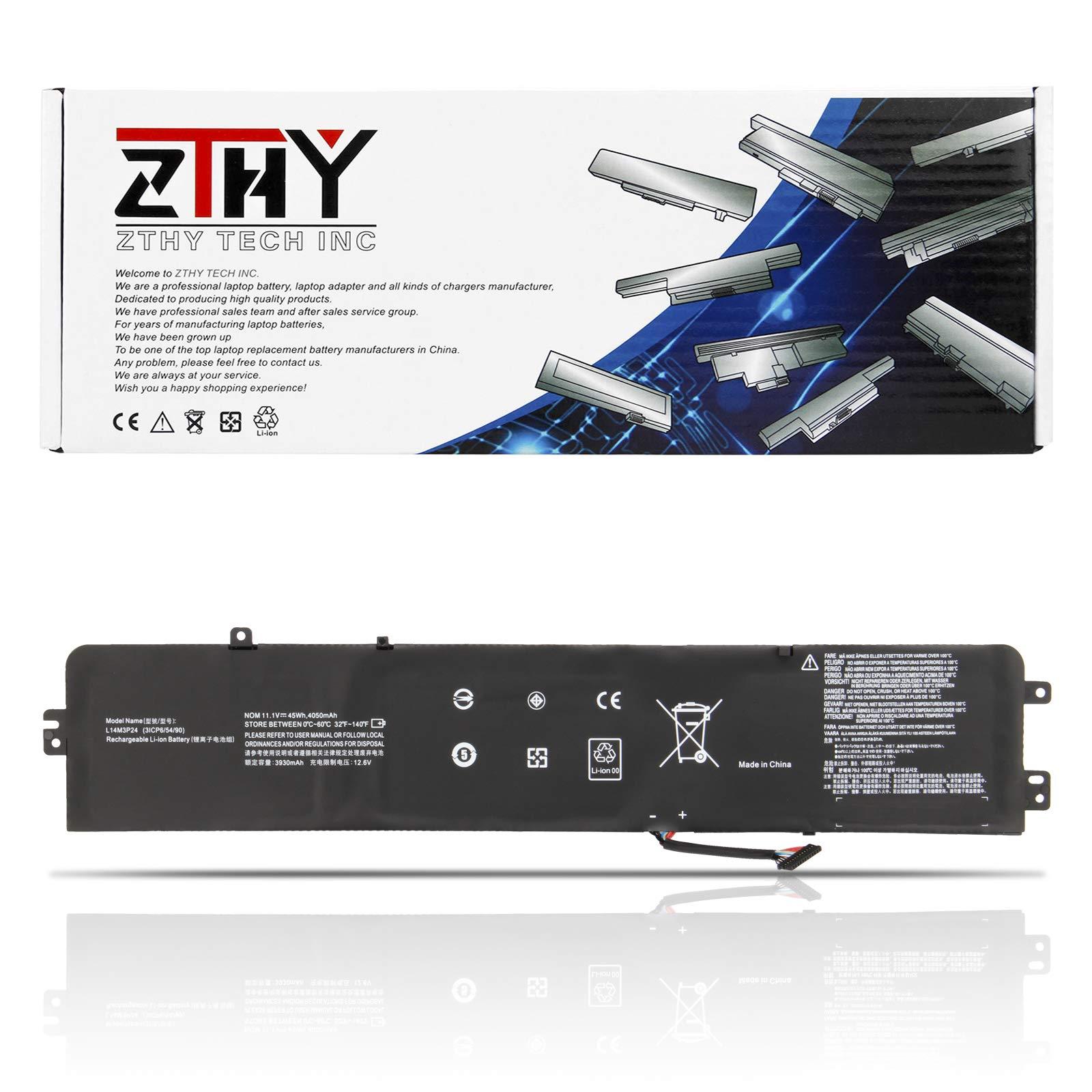 ZTHY New L14M3P24 Battery Replacement for Legion Y520-15IKBA Y520-15IKBM Y520-15IKBN IdeaPad Xiaoxin 700 700-15ISK 700-17ISK Y700-14ISK R720-15IKB Series L14S3P24 L16S3P24 L16M3P24