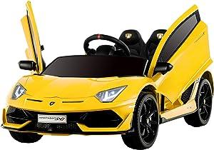 Uenjoy 12V Kids Electric Ride On Car