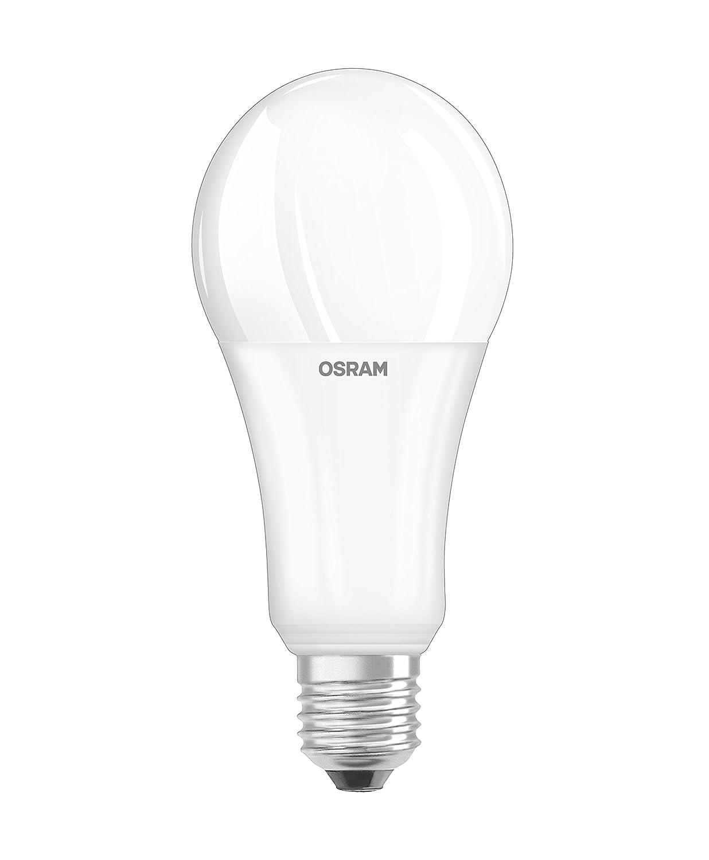 Osram 042926 Bombilla LED E27, 21 W, Blanco 4 Unidades: Amazon.es: Iluminación