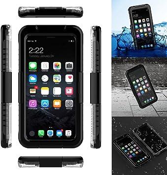 Donkeyphone Carcasa ACUATICA Negra para iPhone X Funda Sumergible ...
