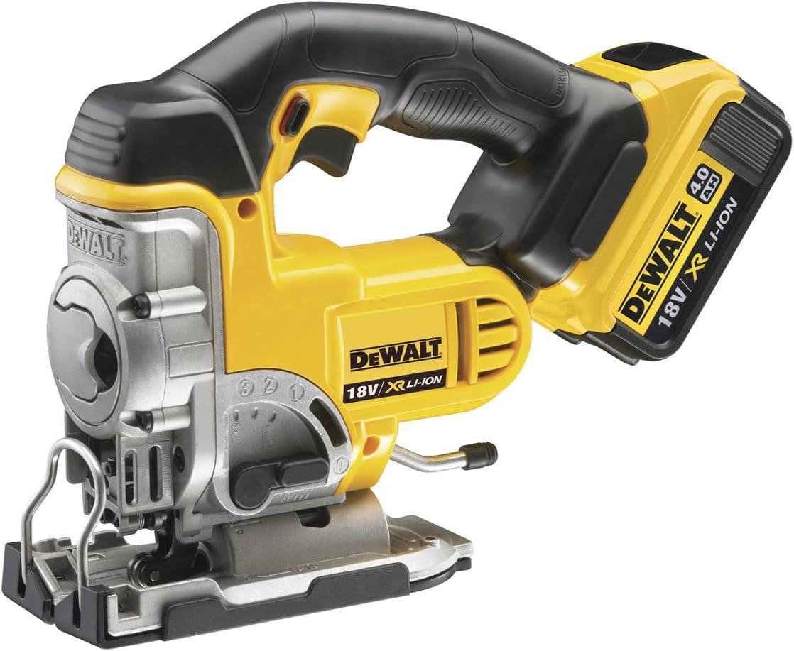 DeWalt DEWDCS331M2 DCS331M2 XR Haut de gamme Jigsaw 18 volt 2 x 4.0ah li-ion
