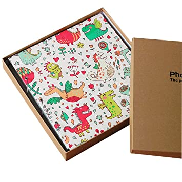Amazoncom Pu Frame Cover Photo Album 1000 Pockets Hold 4x6 Photos