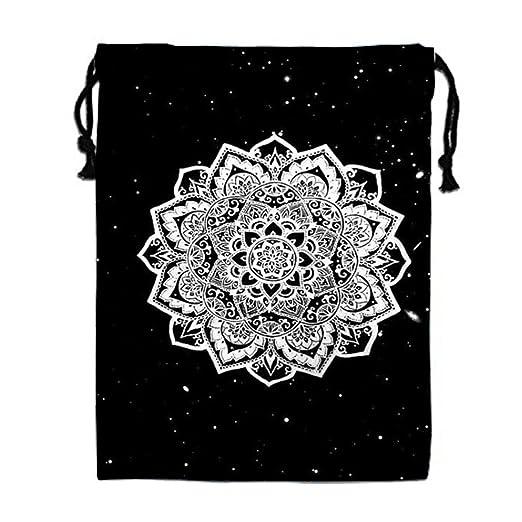 dbdaa1f632b Beauty Mandala 3D Print Drawstring Bag Sport Bag Gym Bag with Pattern  Printing on 2 Sides