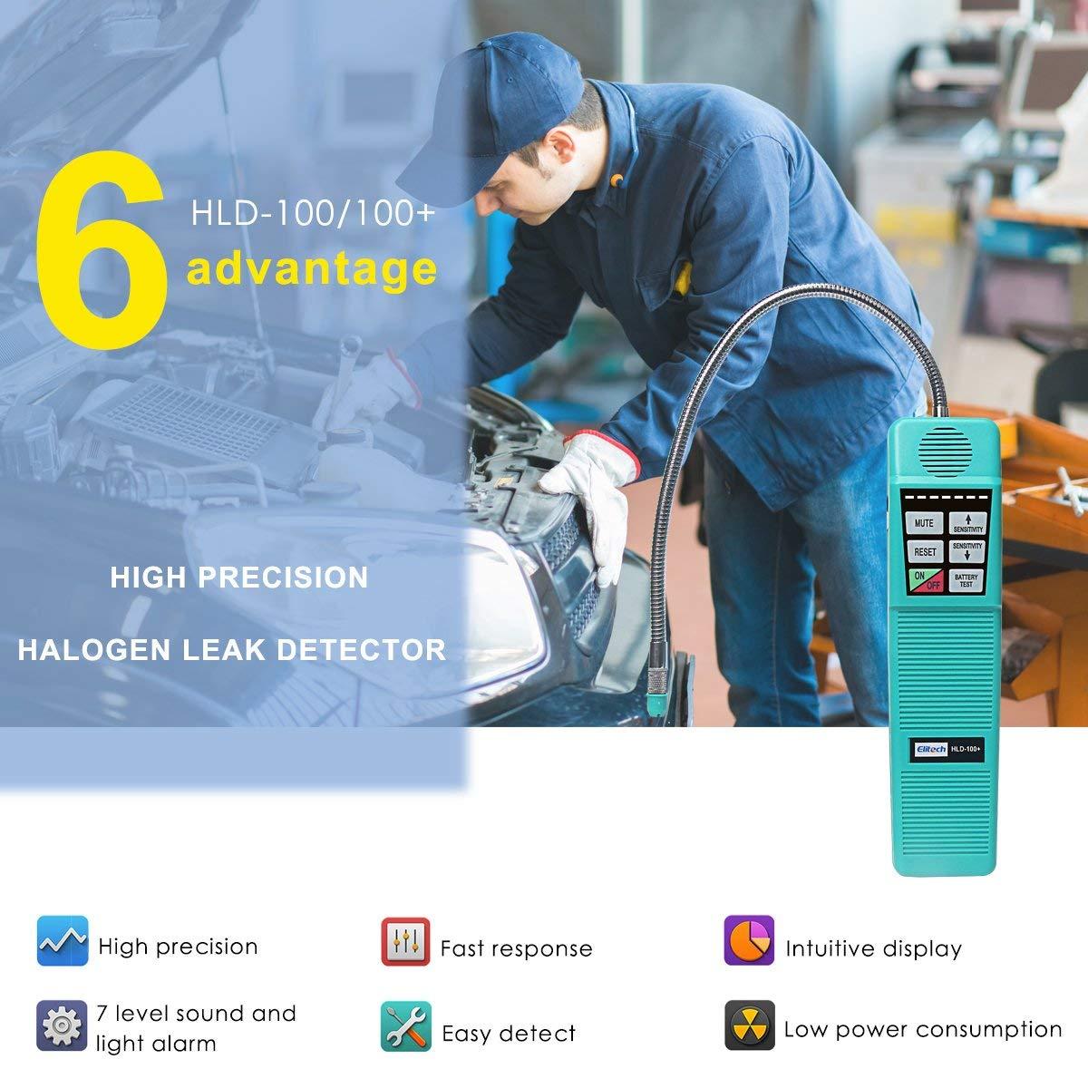 Halogen Corona Leak Detector HLD-100+ Refrigerant Gas Leak