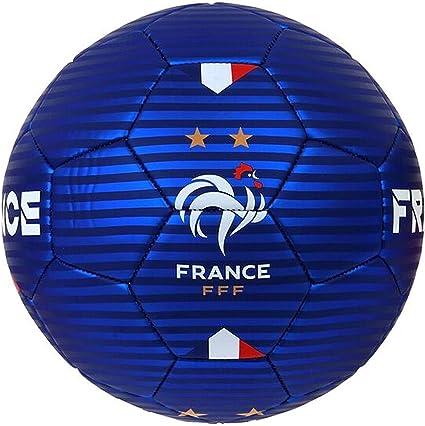à bas prix élégant et gracieux dans quelques jours Ballon de football FFF - Collection officielle Equipe de France de football  - Taille 5