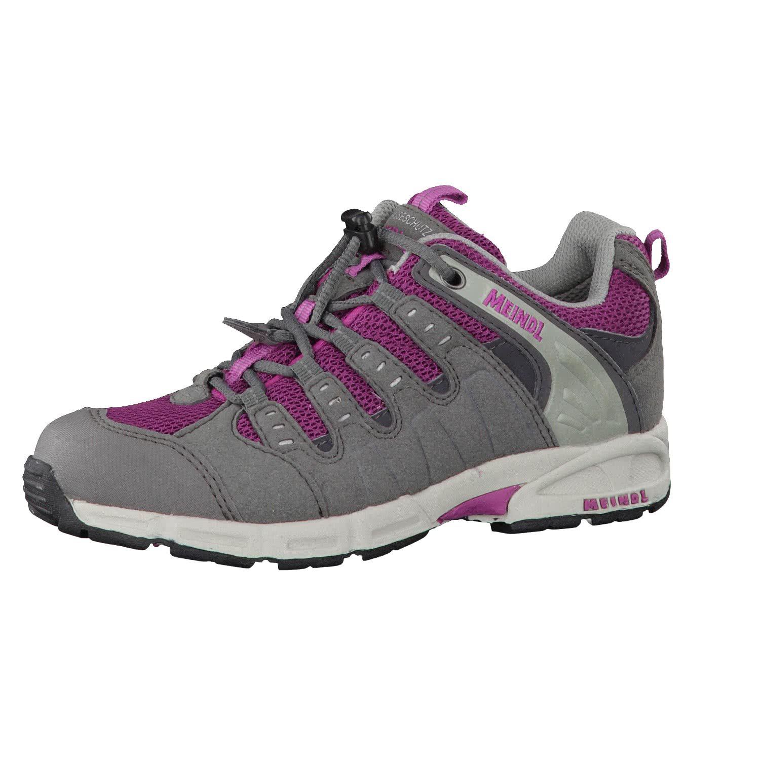 Meindl 2046-49 Snap Junior Kinder Jungen Outdoorschuh aus Velourslederimitat