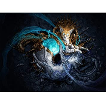 Home Decor New DIY Embroidery Cross Stitch Kit Crystals Pictures DIY 5D Diamond Painting Kit Canvas Wall Art Decor D Fashion Dragon 5D Diamond Painting Kits for Adults Full Drill