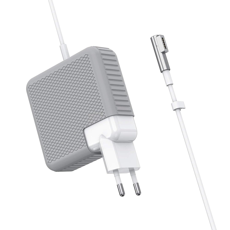 Caricatore MacBook Air 60W MagSafe 1 Connettore di Tipo L Adattatore di Alimentatore Caricatore MacBook Caricatore MacBook Pro per MacBooks 11 /& 13 Pollici, Prima di met/à 2012