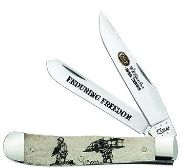 CaseXX Cuchillo de cubertería caso guerra serie trampero ...