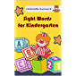Sight Words For Kindergarten: Sight word worksheets practice pages provide fun games and activities for prek kids, preschool, kindergarten, first graders and 2nd grade. Dolce sight word list books.