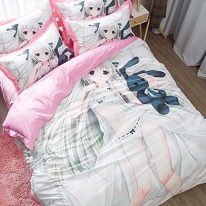 ZHOUING-- Anime Giapponese Abbracci Body Hatsune Miku Set Di ...