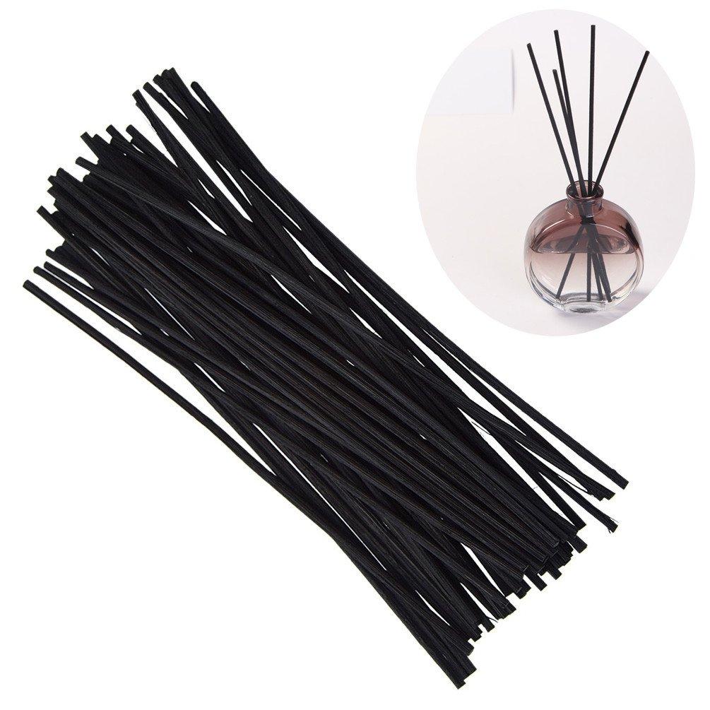YNuth 50pz Rattan per Diffusore di Ricambio Sticks Fragranza Profumazione Rattan Reed Diffuser 3mm*20cm