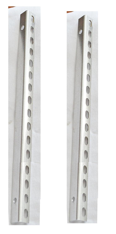 BUD Industries CSA-11266 Aluminum Champion Support Angle Kit 9-7//64 Length Natural Finish