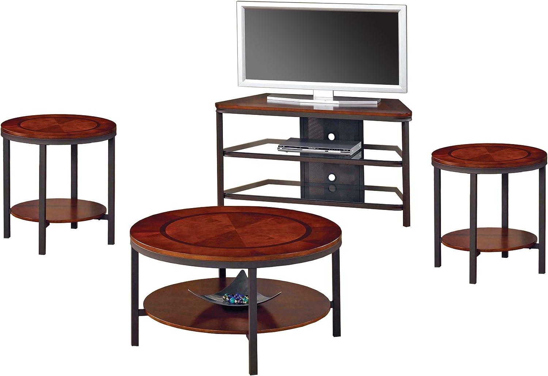 Amazon Com Steve Silver Furniture Trisha 3 Piece Coffee Table Set Furniture Decor