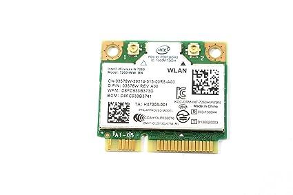 Intel 7260 HMWG R Dual Band Wireless-AC 7260 Network Adapter PCI Express  Half Mini Card 802 11 b/a/g/n/ac