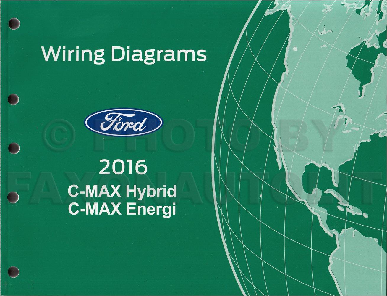 2016 ford c max wiring diagram manual original ford amazon com books Electric Motor Wiring Diagram