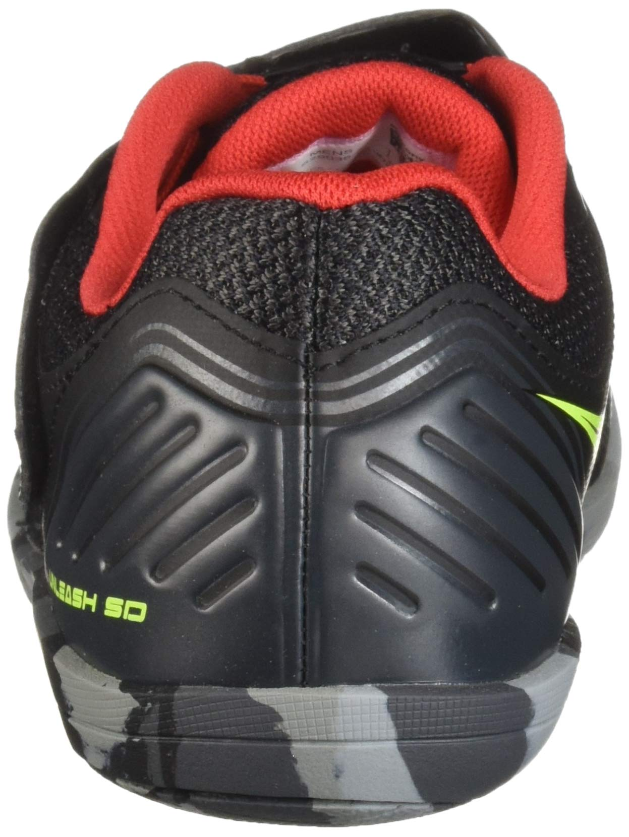Saucony Men's Unleash SD2 Track and Field Shoe, Black/red, 6 by Saucony (Image #2)
