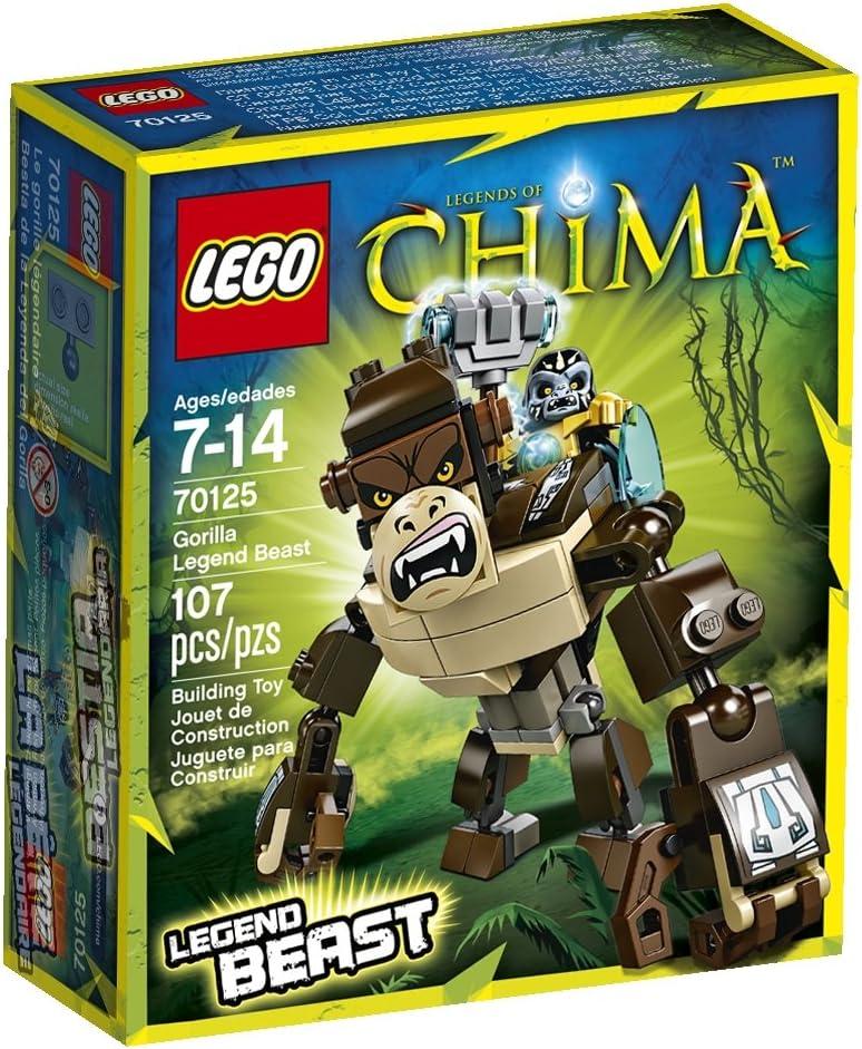 Amazon.com: LEGO Legends of Chima, gorila Leyenda Bestia ...
