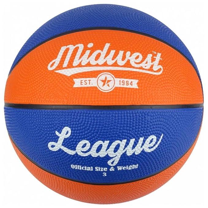 Midwest Balón de baloncesto para liga, todos los tamaños, amarillo ...