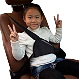 Fulltime(TM) Car Child Safety Cover Shoulder Seat belt holder Adjuster Resistant Protect Car Seat Protectors (Black)