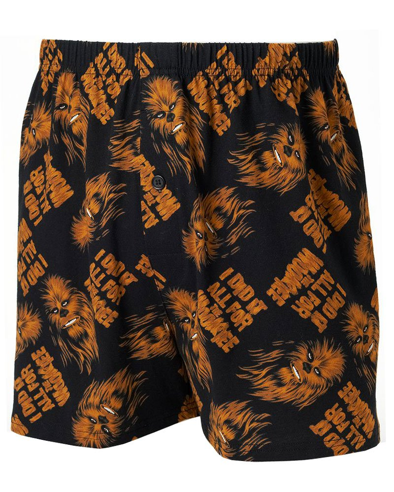 Star Wars I Did It All For the Wookiee Men's Boxers in a Tin, Medium