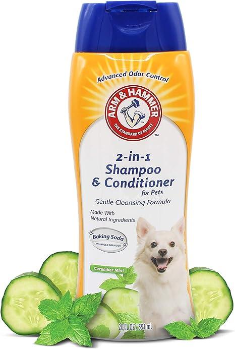 Shampoing Et Apres Shampoing 2 En 1 Arm Hammer Pour Chiens Shampoing Et Apres Shampoing Pour Chien Concombre Et Menthe 567 G Lot De 2 Amazon Ca Animalerie