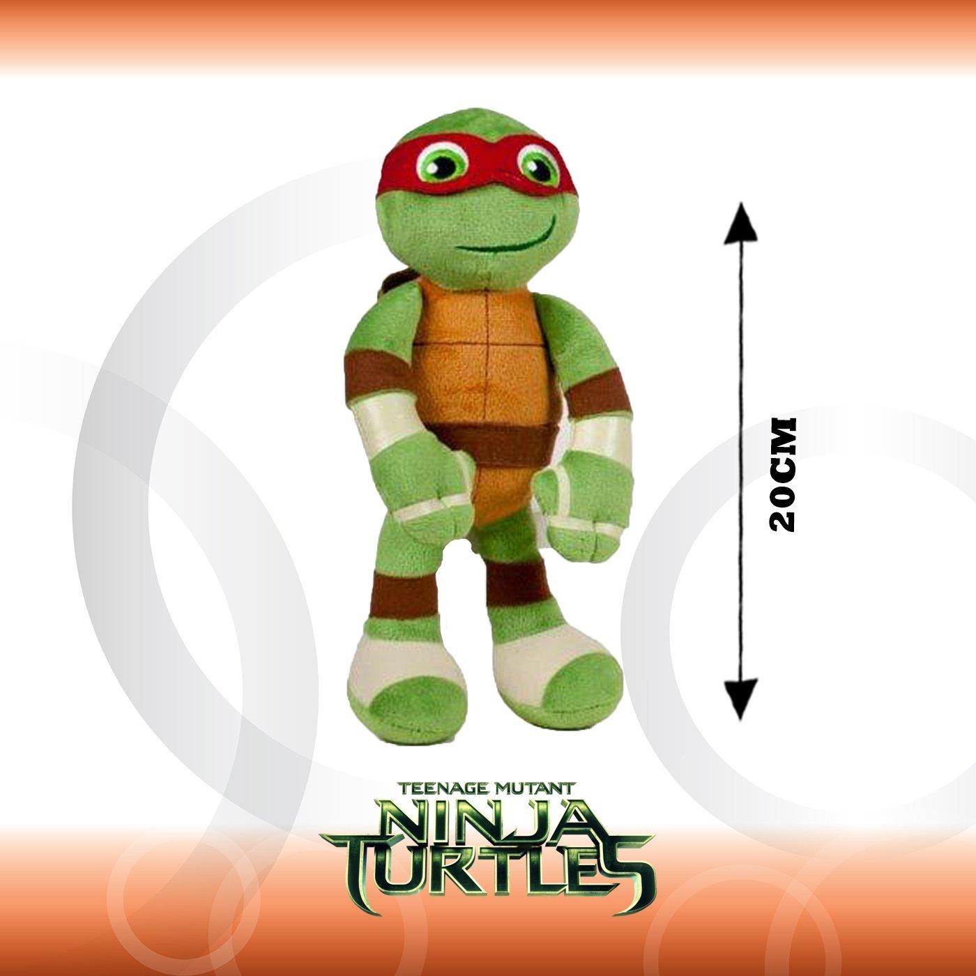 Ousdy - Peluche de Tortugas Ninja 20cm Super Soft 760014035 ...