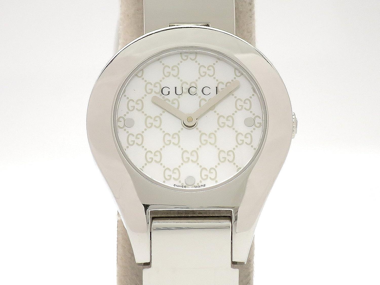 (グッチ) GUCCI 腕時計 レディース時計 シェル文字盤 SS 6700L 中古 B07F3V11F4