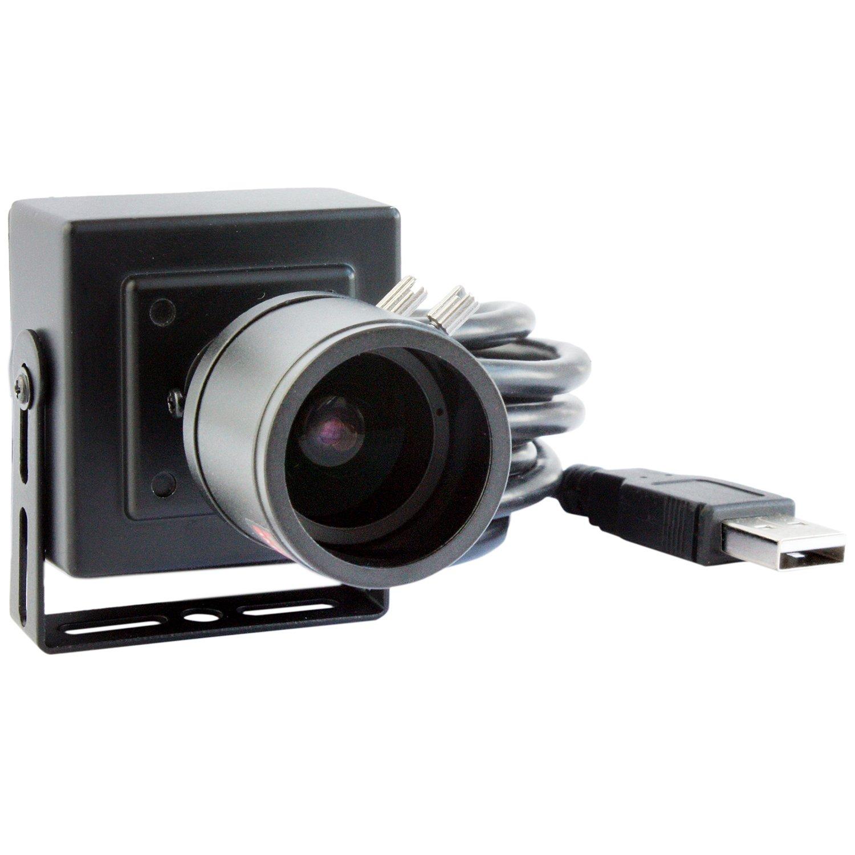 SVPRO 2MP CCTV Surveillance Webcam Sony IMX322 H 264 30fps 2 8mm-12mm  Manual Varifocal Low Light Mini HD USB Webcam Camera HD 1080P